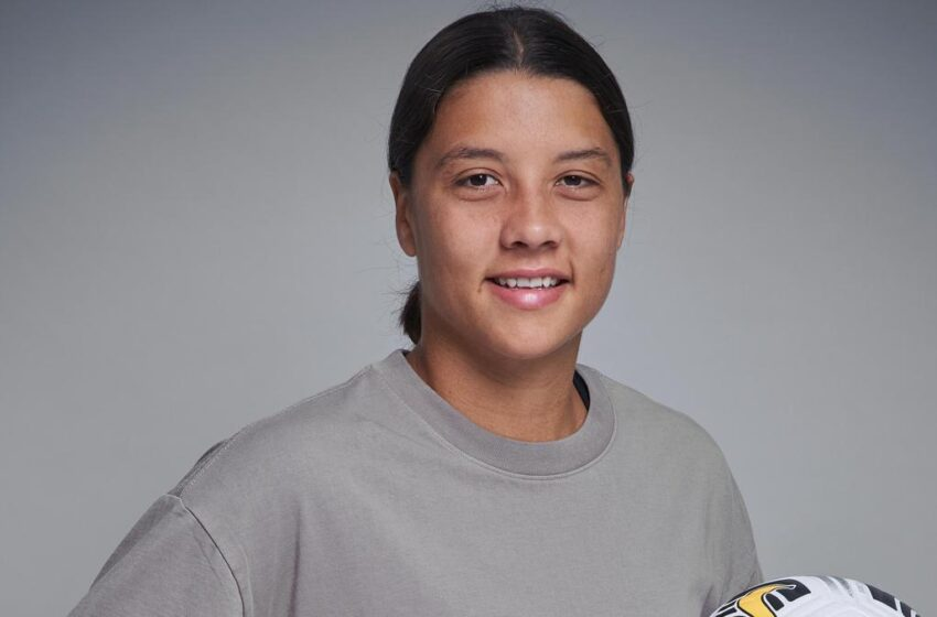 Sam Kerr thought soccer wasn't for her. Lucky for us, she changed her mind