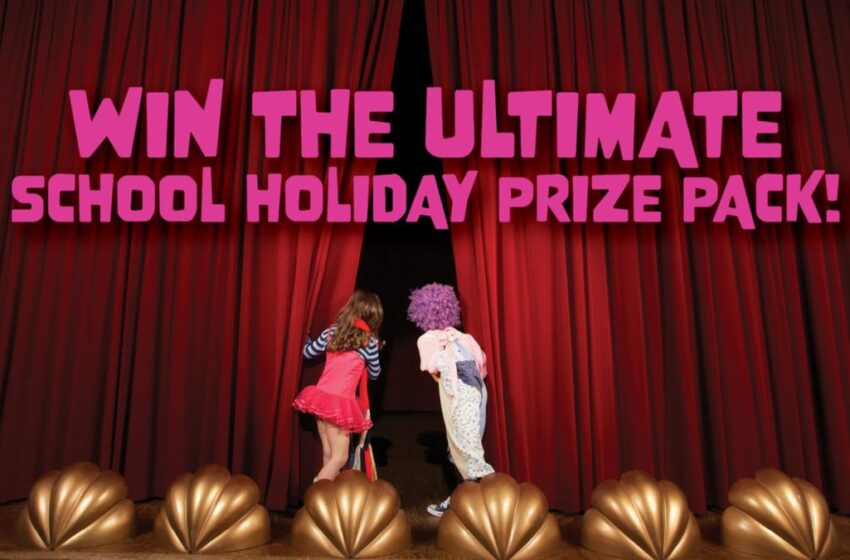WIN the ultimate school holiday prize pack!