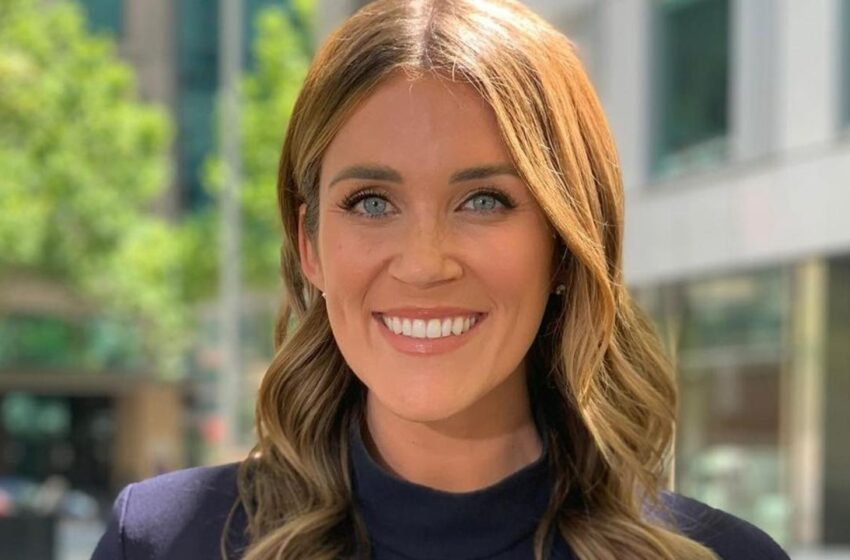 Georgia Love pulled from on-air role with Channel 7 after post